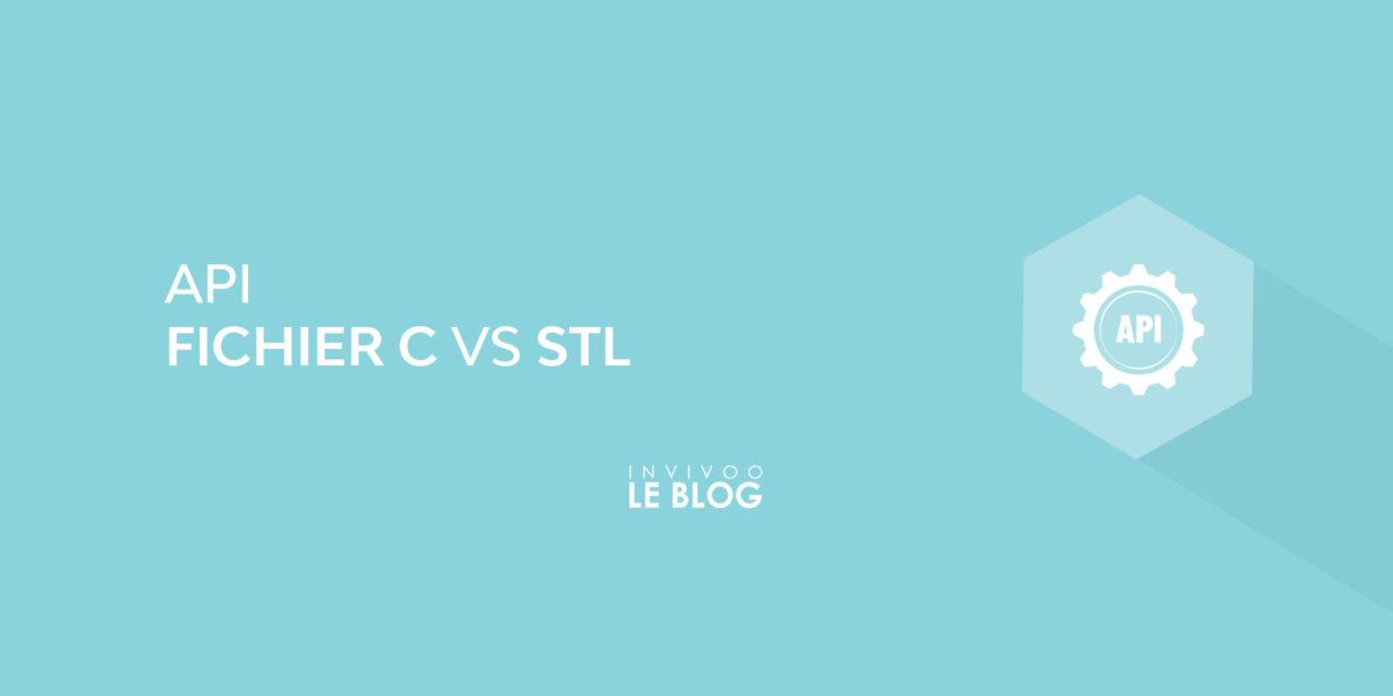 API de fichiers C VS API STL