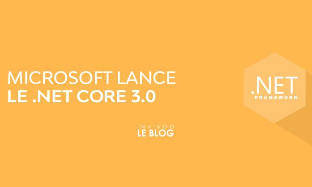 Microsoft lance le .NET Core 3.0